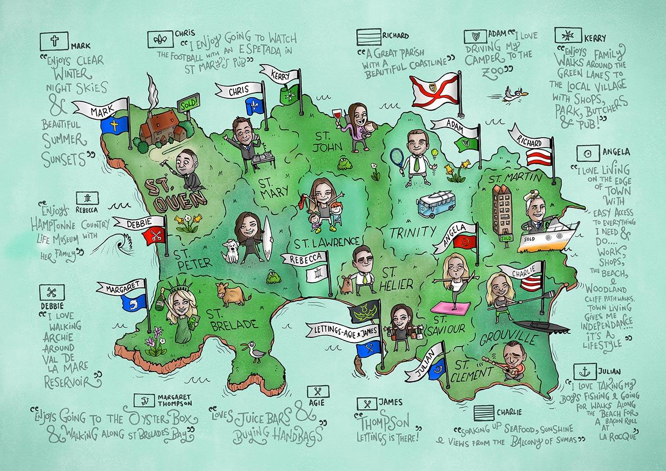 'Thompson Estates Map' 2016